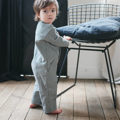 Advanced Beginner - LISBOA Jumpsuit/Playsuit Kit - Baby's