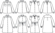 Load image into Gallery viewer, Advanced Intermediate - Alex Mum Blouse or Dress Kit