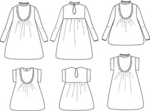 Load image into Gallery viewer, Advanced Beginner - Ida Blouse & Dress Kit - Children's