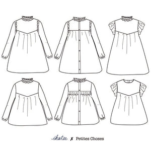 Advanced Beginner - LOUISE Mum Blouse & Dress Kit