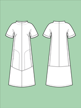 Load image into Gallery viewer, Advanced Beginner - Cap Sleeve Dress
