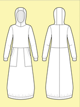 Load image into Gallery viewer, Advanced Beginner - Hoodie Dress