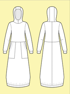 Advanced Beginner - Hoodie Dress