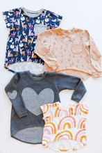 Load image into Gallery viewer, Advanced Beginner - Mini Briar Sweater & Tee Kit - Children's