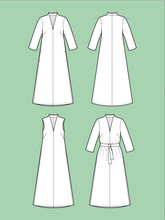 Load image into Gallery viewer, Advanced Beginner - V-Neck Dress
