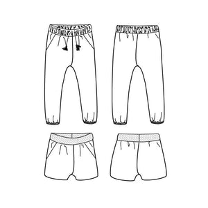 Beginner - Dakar Pants or Shortpants Kit - Children's