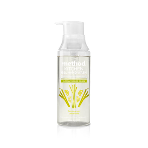 Naturally Derived Kitchen Gel Hand Wash 354ml - Lemongrass