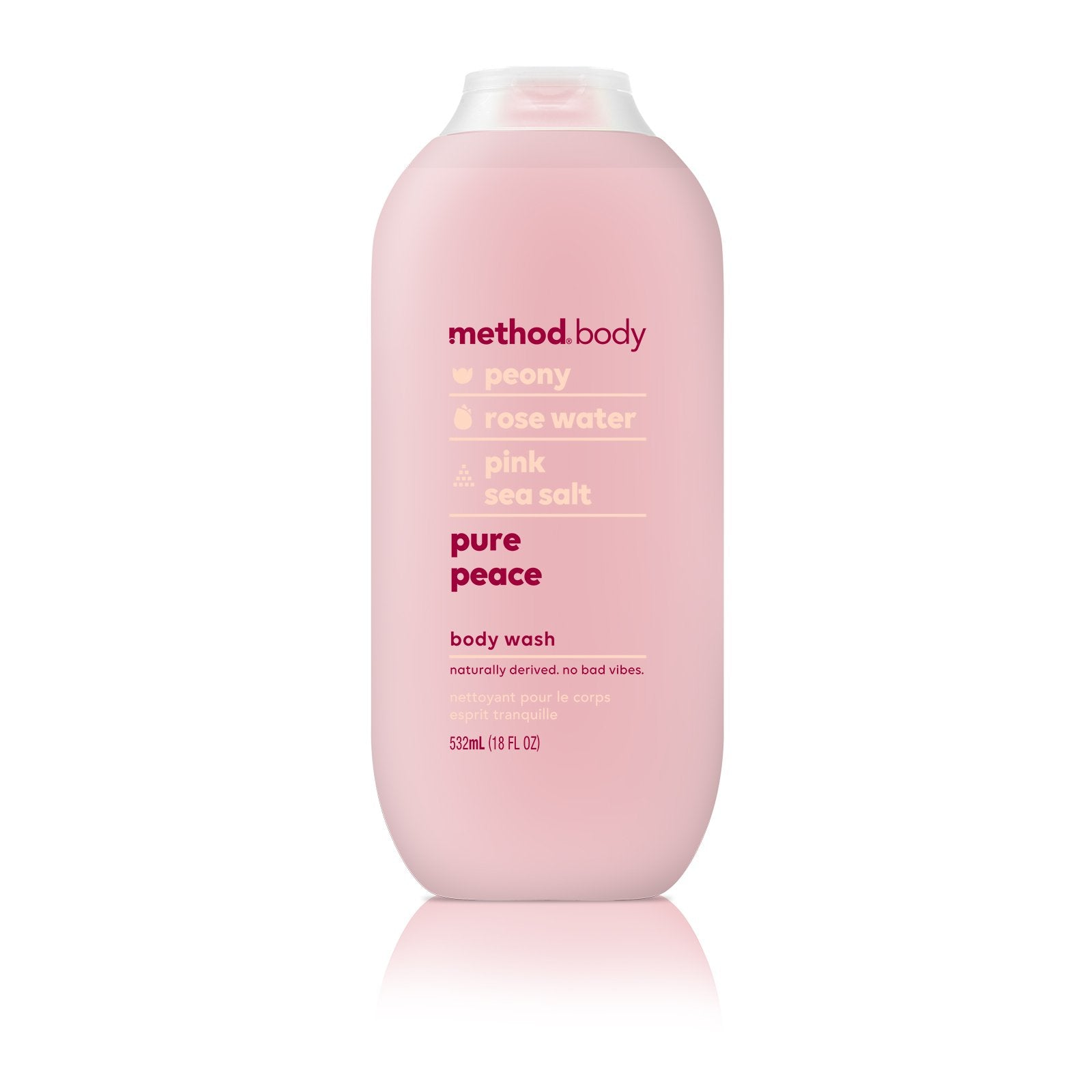 Naturally Derived Body Wash 532ml - Pure Peace