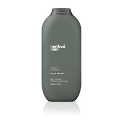 Naturally Derived Men Body Wash 532ml - Cedar + Cypress