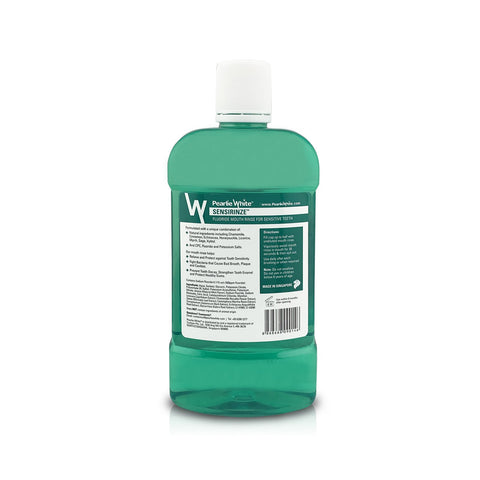 Sensirinze Fluoride Mouth Rinse for Sensitive Teeth 750ml