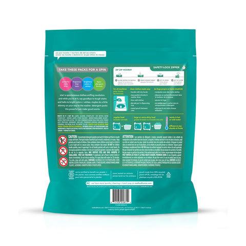 3-in-1 Cleaning Power Laundry Detergent Packs 42 loads - Beach Sage