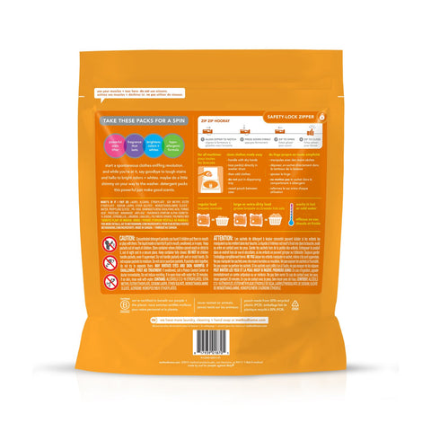 3-in-1 Cleaning Power Laundry Detergent Packs 42 loads - Ginger Mango