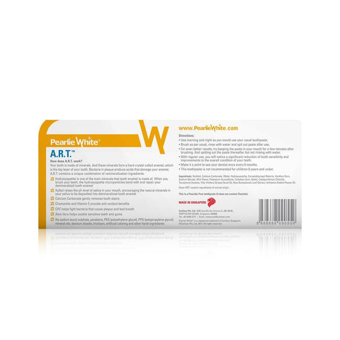 (A.R.T.) Active Remineralization Toothpaste - Fluoride Free 110gm