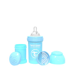 Anti-Colic Premium PP Baby Bottle 180ml Pastel Blue