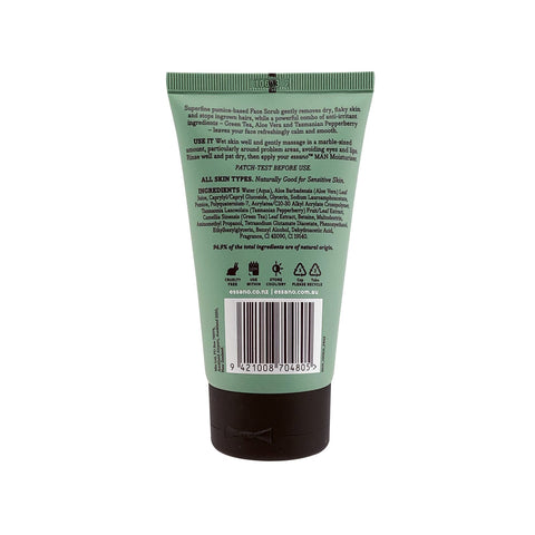 Man Anti-Irritation Face Scrub 100ml