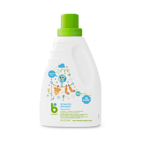 3x Laundry Detergent, 1.04L, Fragrance Free