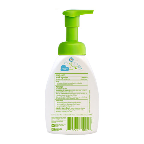 Alcohol-Free Foaming Hand Sanitizer, 250ml, Fragrance Free