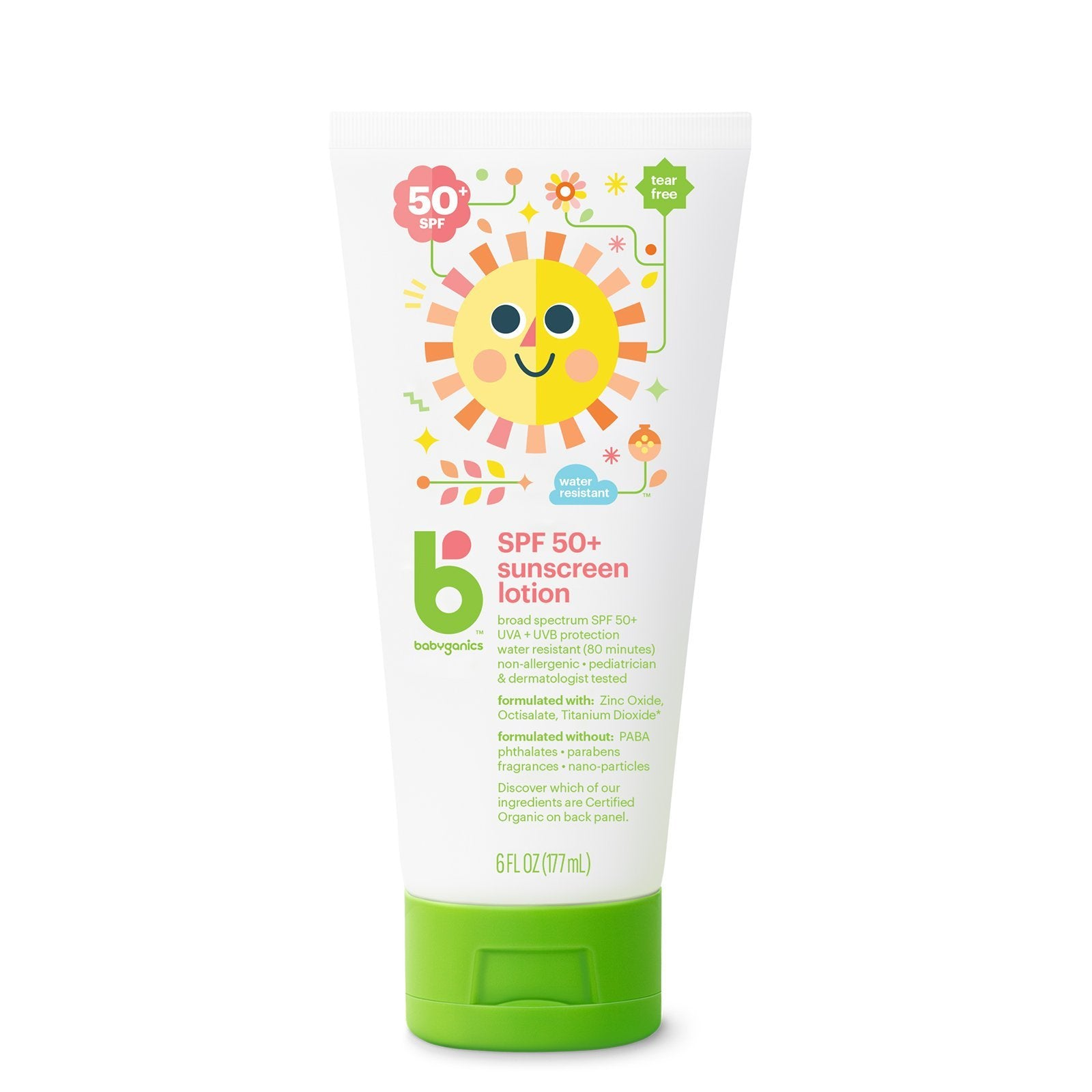 SPF 50+ Sunscreen Lotion, 177ml