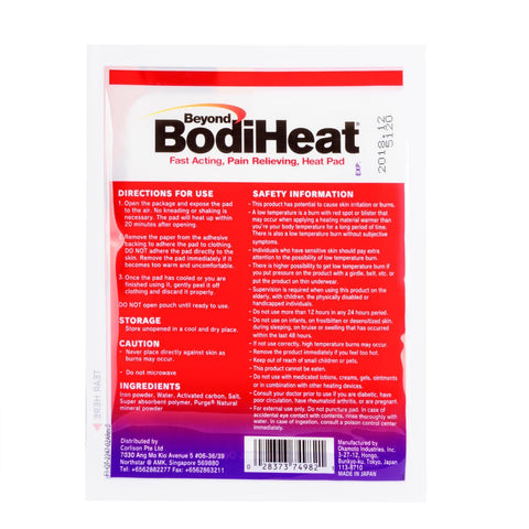 Fast Acting Pain Relieving Heat Pad