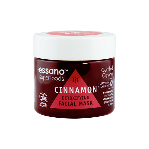 Superfoods Certified Organic Cinnamon Detoxifying Mask 50g
