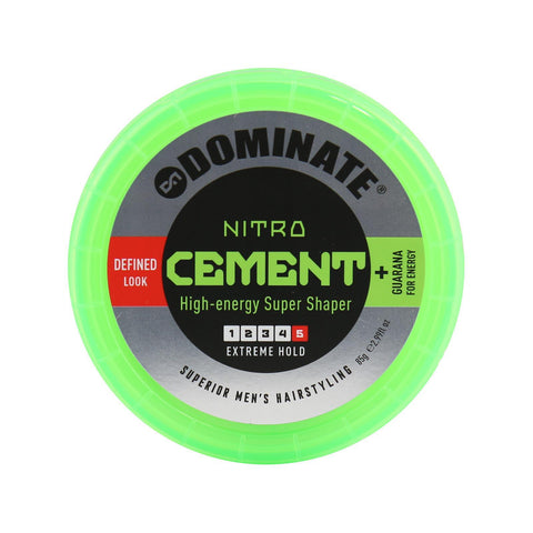 Dominate Nitro Cement High Energy Super Shaper Hair-Styling Paste 85g