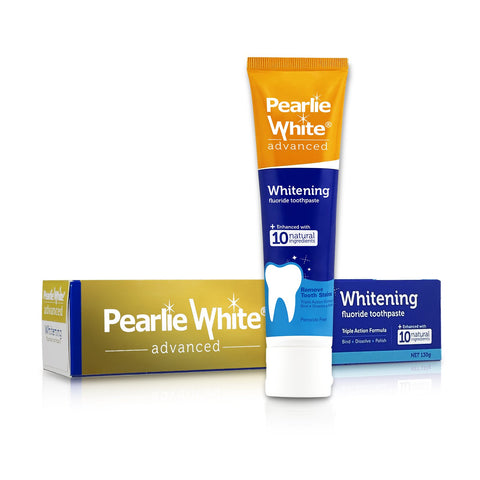 Advanced Whitening Fluoride (Enhanced) Toothpaste 130gm