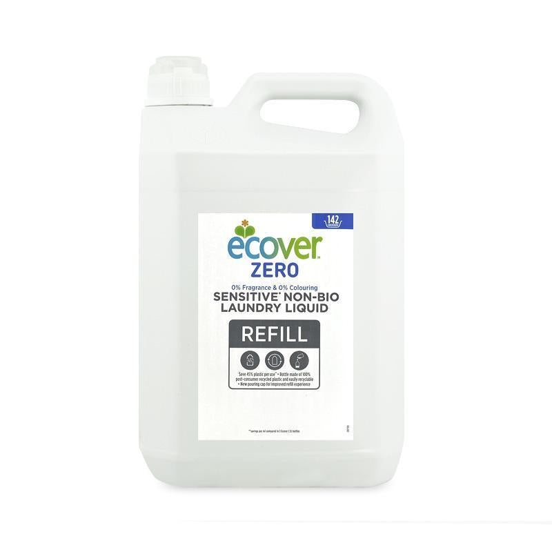 Zero Sensitive Non-Bio Laundry Liquid 5L