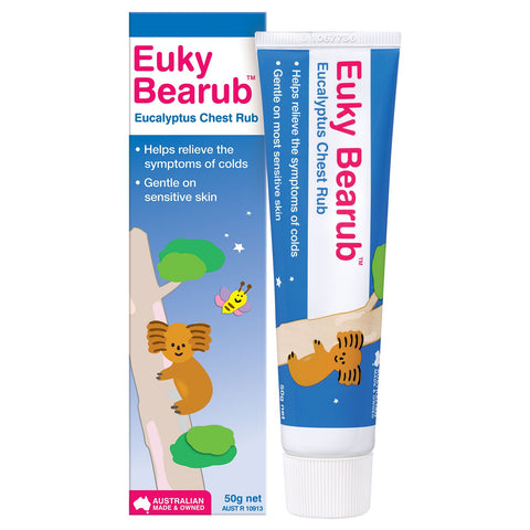 Bearub Eucalyptus Chest Rub 50g (Pack of 4)