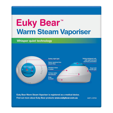 Warm Steam Vaporiser