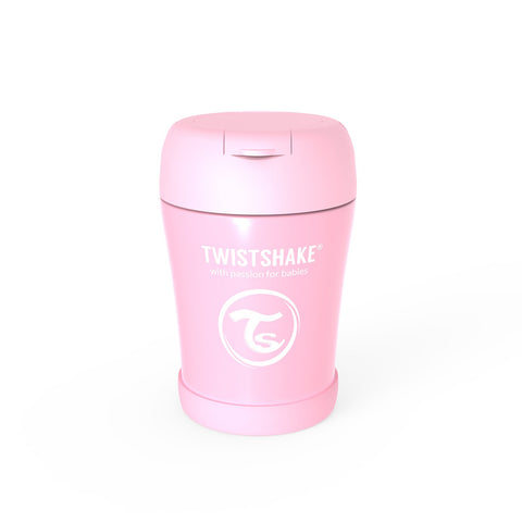 Insulated Food Container 350ml Pastel Pink
