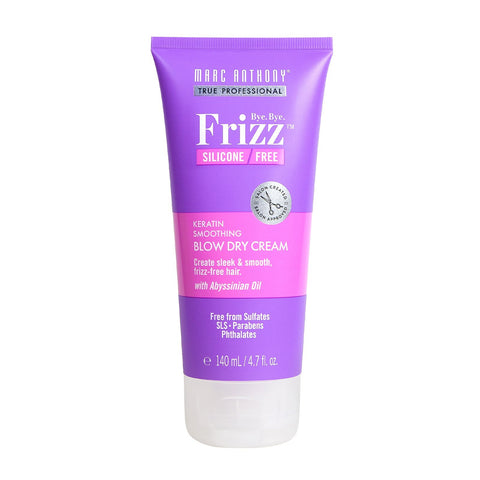 Bye Bye Frizz Keratin Smoothing Blow Dry Cream 140ml