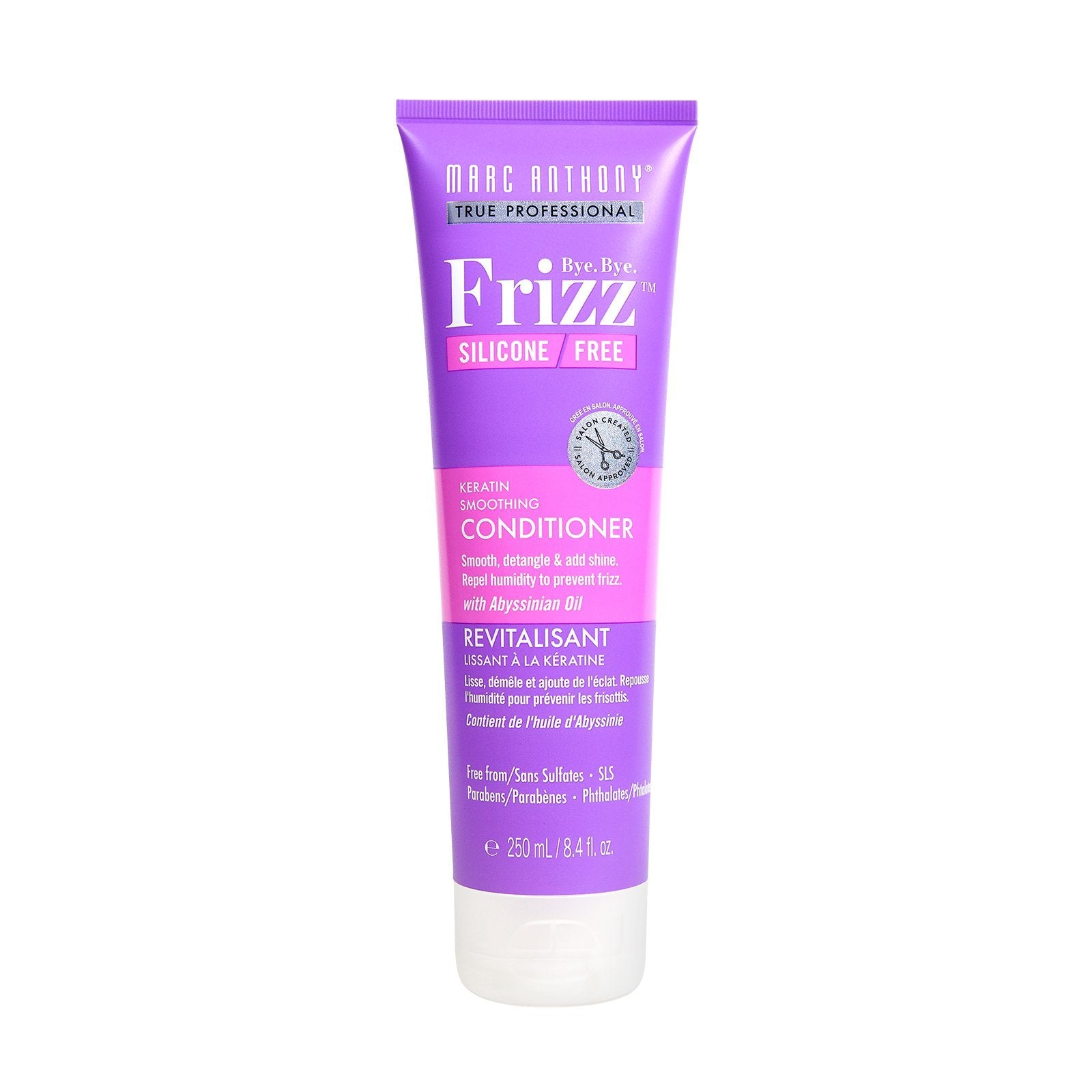 Bye Bye Frizz Keratin Smoothing Conditioner 250ml