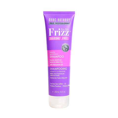 Bye Bye Frizz Keratin Smoothing Shampoo 250ml