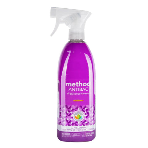 ANTIBAC Antibacterial All Purpose Cleaner 828ml- Wildflower