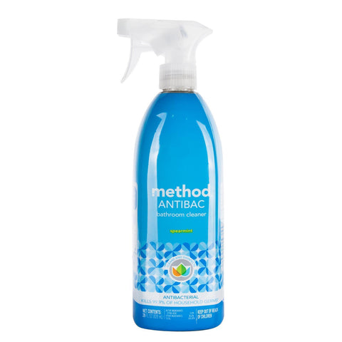 Antibac Antibacterial Bathroom Cleaner 828ml- Spearmint