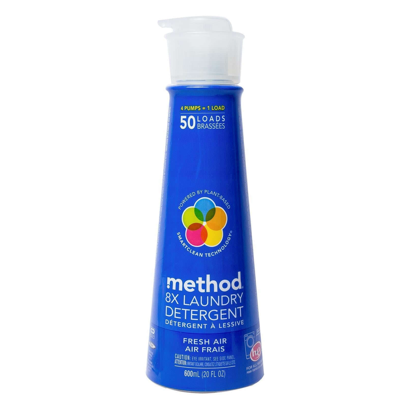 8x Laundry Detergent with Patent-Pending Smartclean Technology™ 600ml- Fresh Air