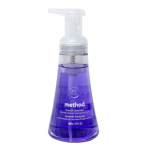 Naturally Derived Foaming Hand Wash 300ml - French Lavender