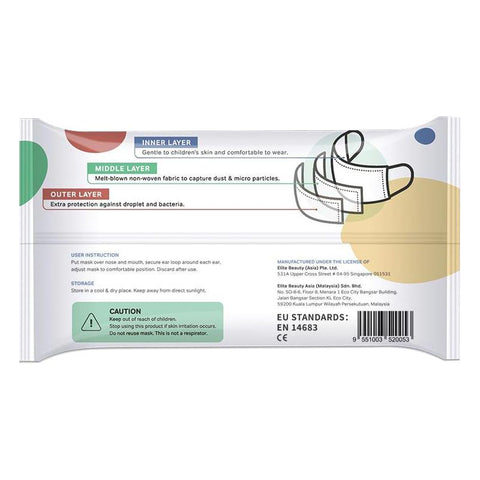 Kids Disposable Medical Mask 5s