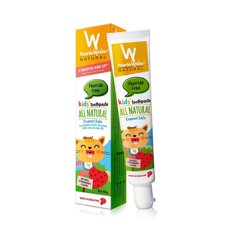 All Natural Enamel Safe Kids Toothpaste 45gm - Strawberry