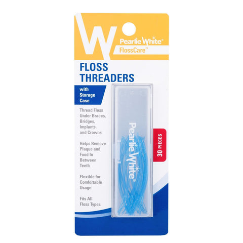 Flosscare Floss Threaders With Storage Case 30s