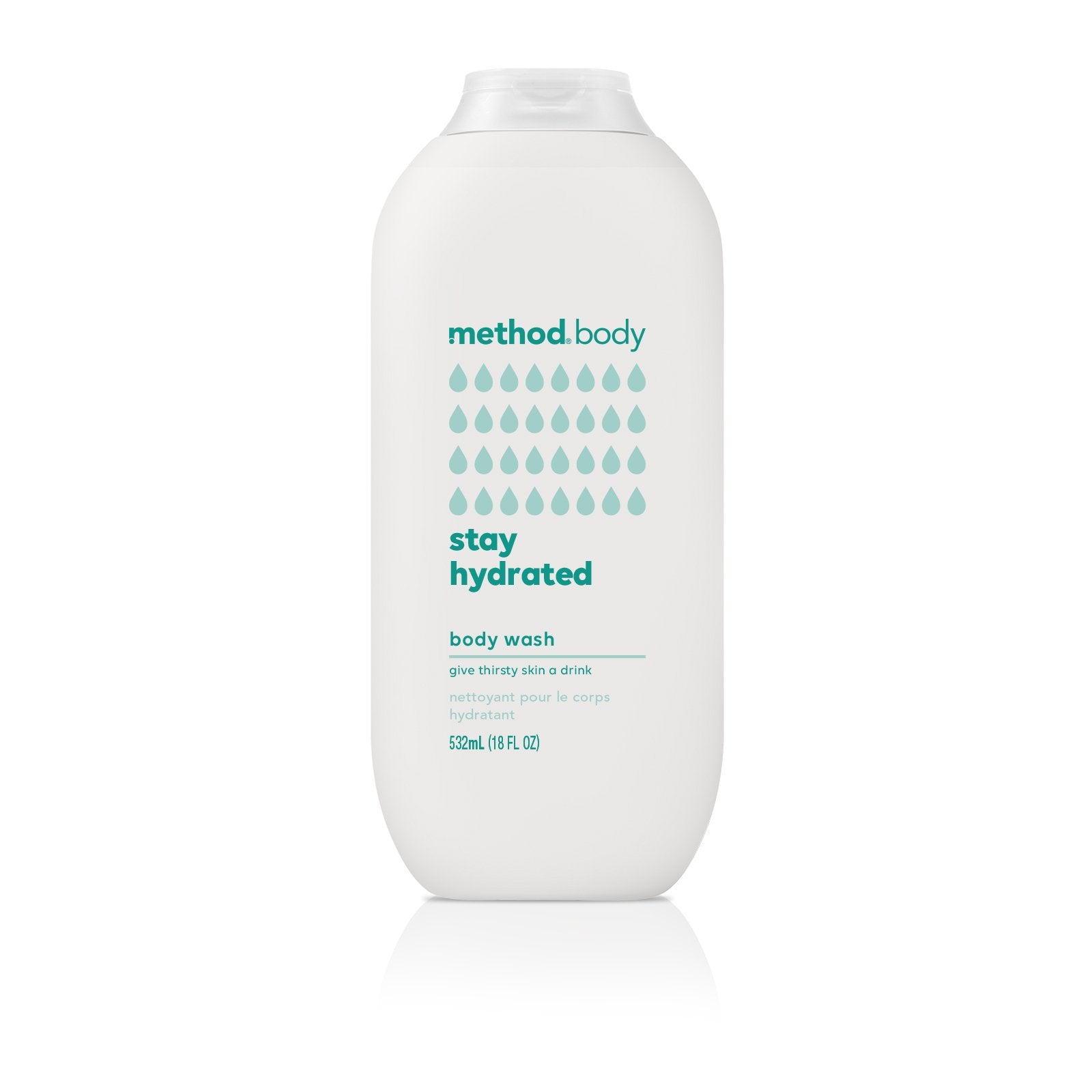 Naturally Derived Body Wash 532ml - Stay Hydrated