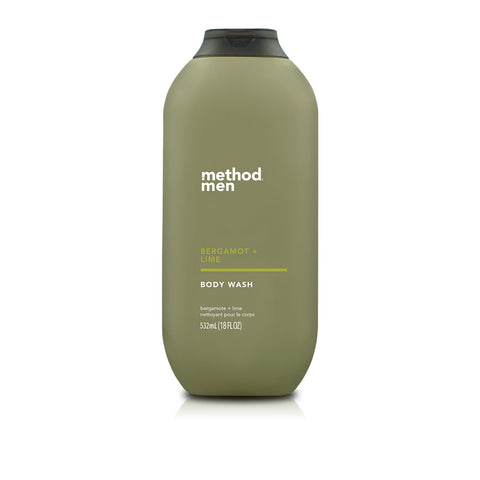 Naturally Derived Body Wash 532ml - Bergamot + Lime