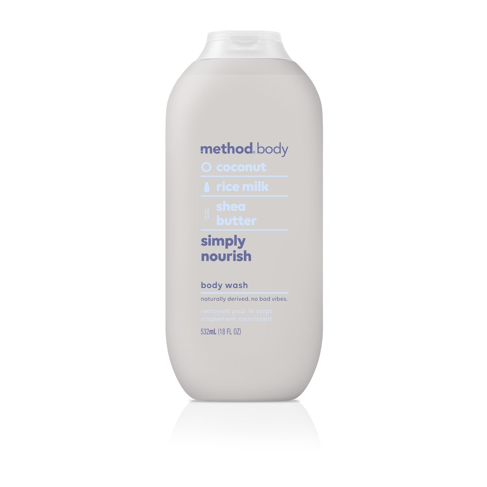 Naturally Derived Body Wash 532ml- Simply Nourish