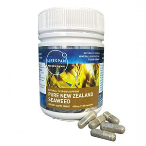 Pure New Zealand Seaweed 600mg 180 Capsules