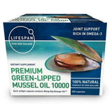 Premium Green Lipped Mussel Oil 10000 200 Capsules