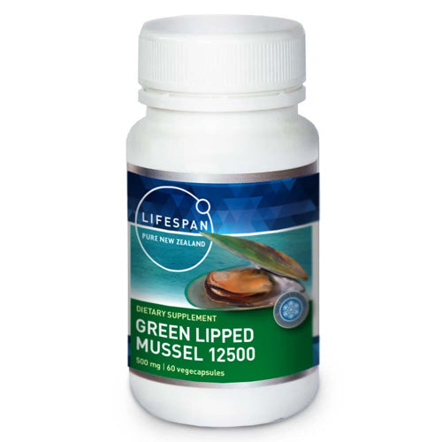 Green Lipped Mussel 12500 60 Capsules