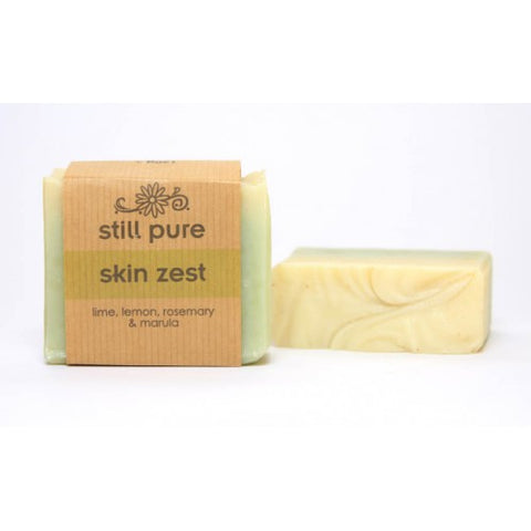 Skin Zest Bar - Lime, Lemon, Rosemary & Marula, 100g