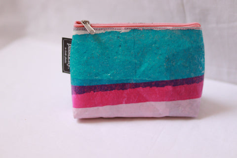 Upcycled Plastic Clutch - Small