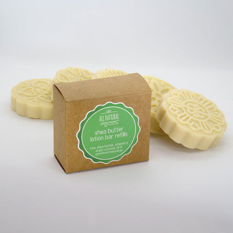 Shea Butter Lotion Bar Refill (2x Per Pack)