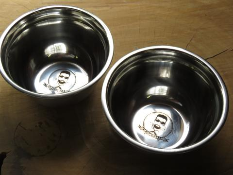 Stainless Steel Lathering Bowl
